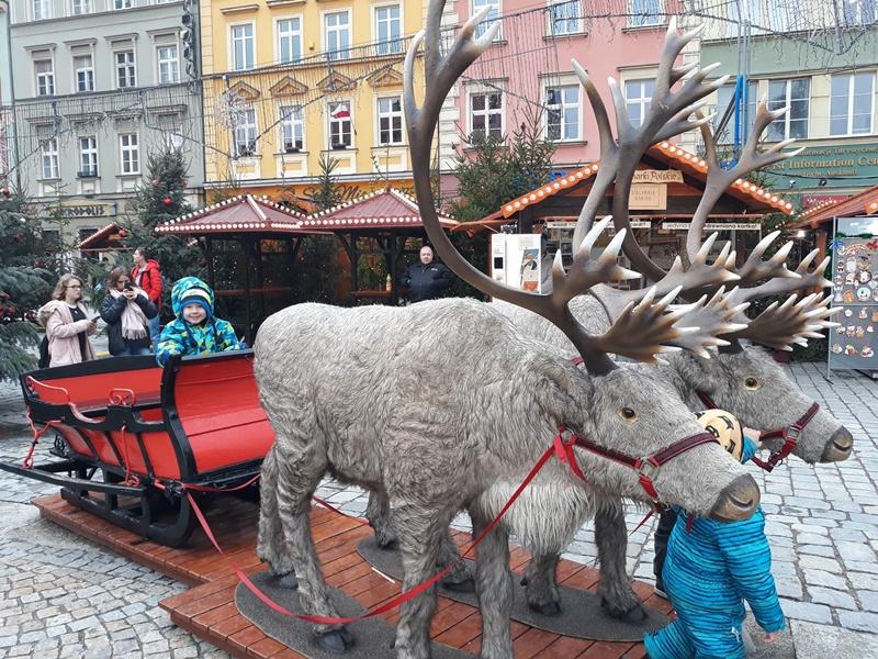Rodzinna wycieczka do Wrocławia na Jarmark Bożonarodzeniowy